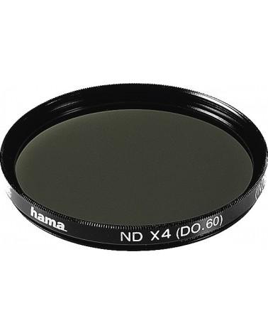 Filtro de densidad neutra Hama ND4, HTMC multicapa, 43,0 mm