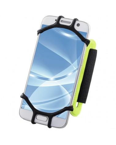"""Brazalete deportivo Hama """"Twist"""" para smartphones 10-14 cm, verde"""