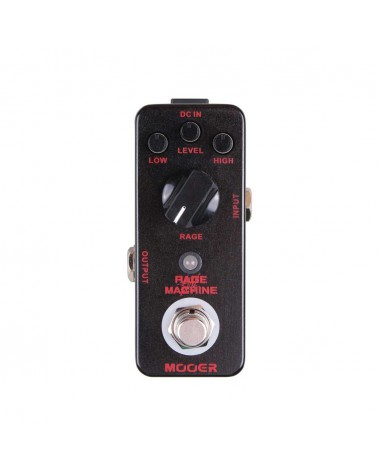 METALERO MOOER RAGEMACHINE Metal Distortion Pedal