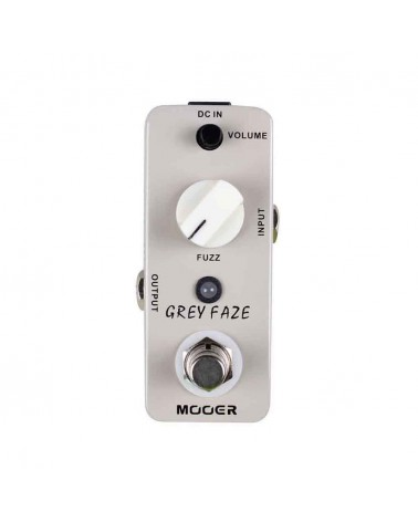 FUZZ MOOER GREY FACE Fuzz Pedal