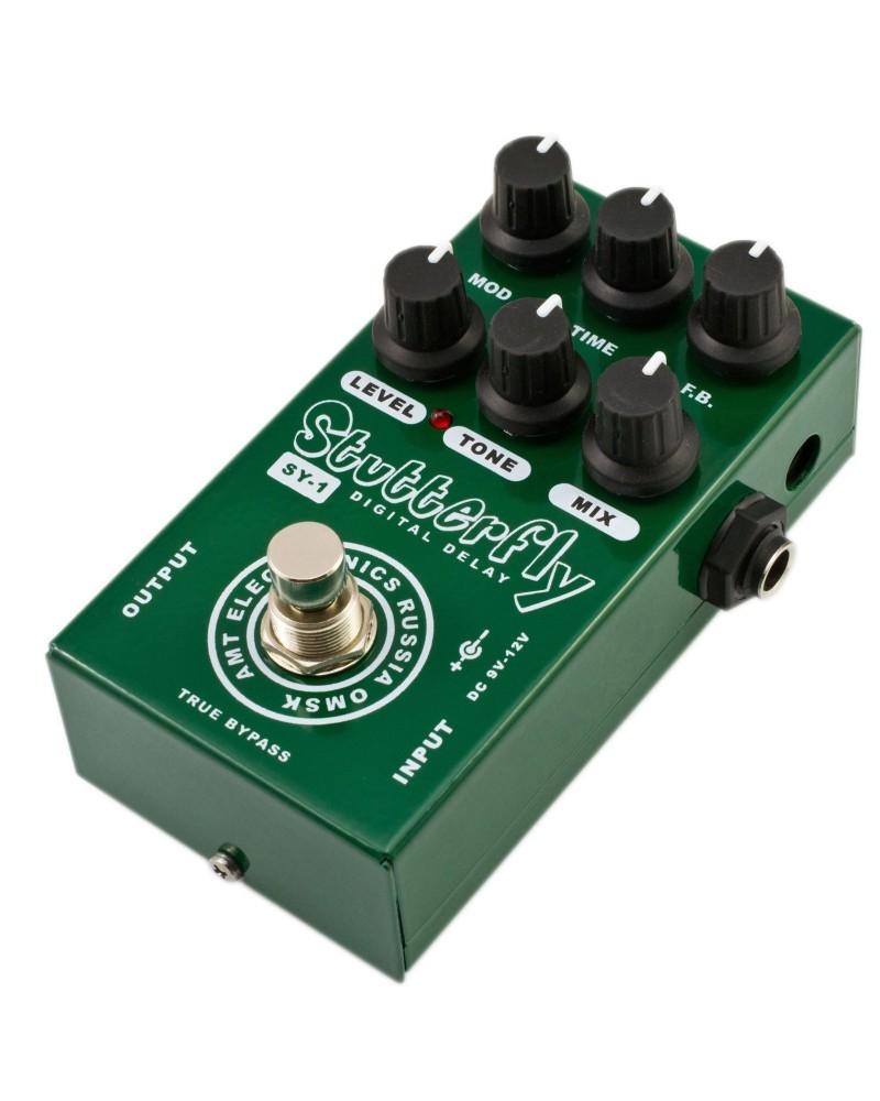 DELAY DIGITAL AMT SY1 Stutterfly Pedal HI-Quality Guitar Digital Delay