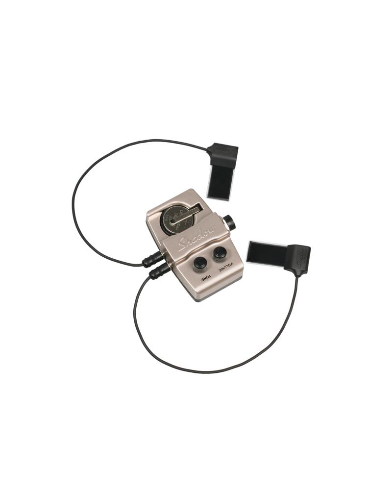 Contrabajo Activa Shadow SH965 NFX Double Bass Nanoflex Pickup with Preamp