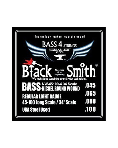BLACKSMITH NW45100-4 BASS REGULAR LIGHT NORMAL