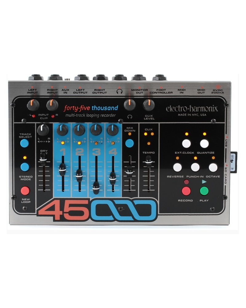 EHX 45000STEREO MULTITRACK LOOPER