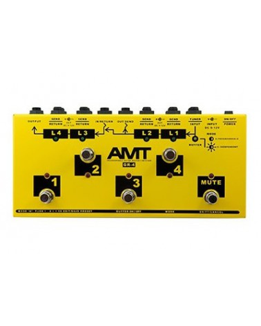SWITCHERA PROGRAMABLE PEDALES AMT GR4 PROGRAMABLE EFFECTS ROUTER/SWITCHER