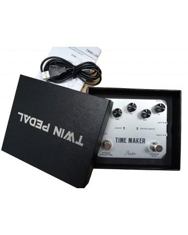 ROWIN DELAY TIMEMAKER, 11 DELAYS, 4S DELAY, TAP/TEMPO/MUTE/HOLD USB