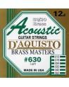 DAQUISTO 630 ACOUSTIC BRASS CUERDAS 12/52