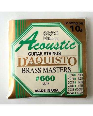 DAQUISTO 660 ACUSTICA DE 12 CUERDAS 10/48