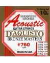 DAQUISTO 760 CUERDAS ACUSTICAS 12 CUERDAS 10/48 PHOSPHOR BRONZE