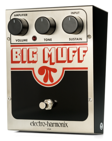 HX BIG MUFF PI (Classic) Distortion/Sustainer Battery included, 9.6DC-200 PSU optional
