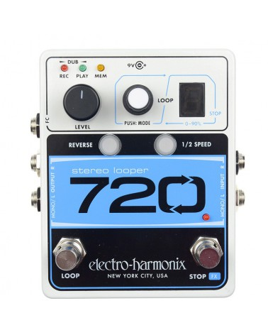 EHX 720 STEREO LOOPER 10...