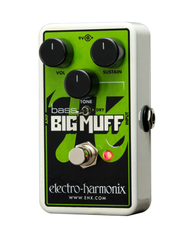 EHX Bass Big Muff Nano Distorsión /Sustainer para bajo electrico