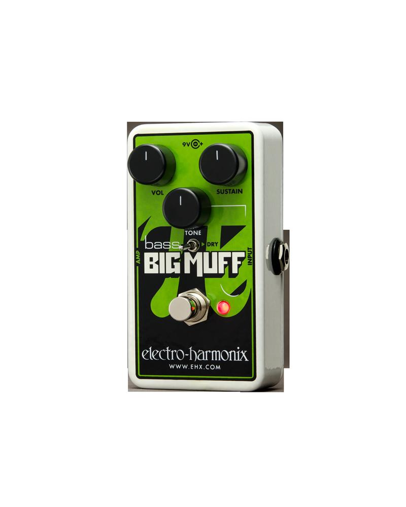 EHX Bass Big Muff Nano Distorsión /Sustainer para bajo electrico