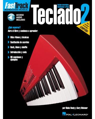 MÉTODO DE TECLADO FAST TRACK - EDICIÓN EN ESPAÑOL Libro 2 00695726