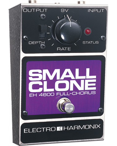 EHX SMALL CLONE Analog Chorus Battery included, 9DC-100 PSU optional