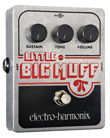 EHX LITTLE BIG MUFF PI Distortion/Sustainer Battery included, 9.6DC-200 PSU optional