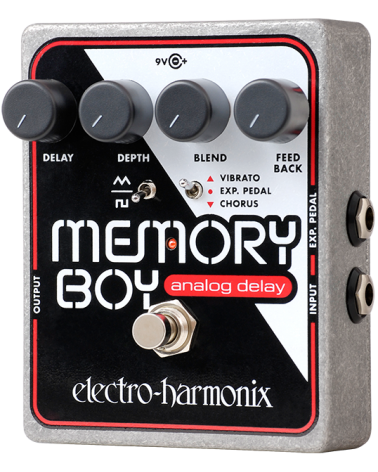 EHX MEMORY BOY Analog Echo/Chorus/Vibrato, 9.6DC-200 PSU included